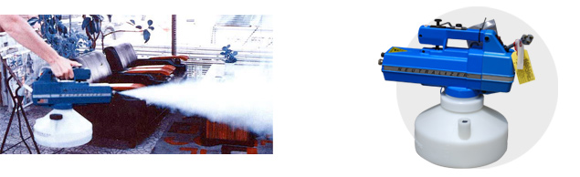 ● DYNAFOG Model 2760 ハンディ型(環境衛生用煙霧消毒器・電動)