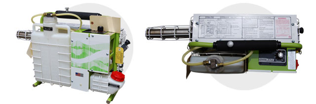 ● DYNAFOG Model 2600 セルスタート方式(環境衛生用煙霧消毒器)